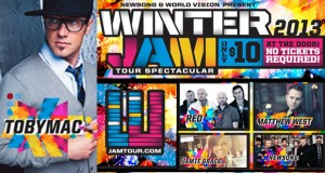 2013 Winter Jam Tour