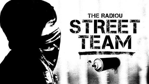 The RadioU Street Team
