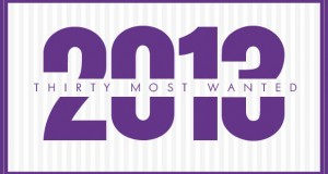 30 Most Wanted of 2013