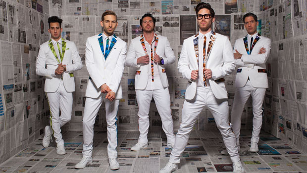 Family Force 5 tweets cryptically from the studio
