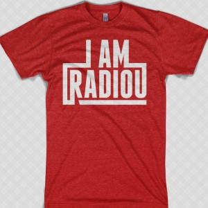 I AM RadioU t-shirt