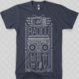 I AM RadioU t-shirt