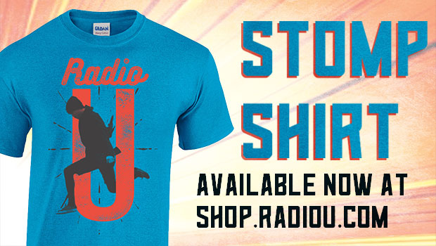 RadioU Stomp t-shirt