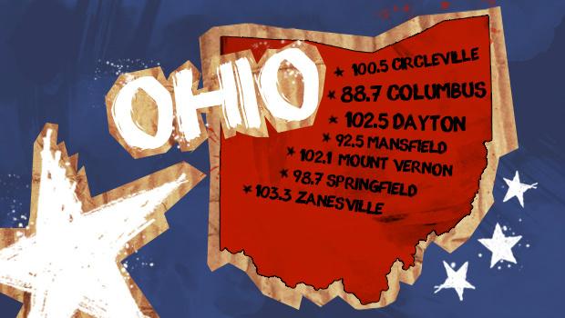 RadioU Ohio stations