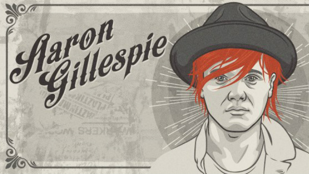 Aaron Gillespie to tour