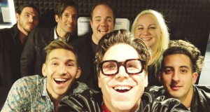 Family Force 5 in the studio on the RIOT