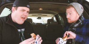 White Castle Turkey Sliders!?!? Obadiah and Zach eat 'em!