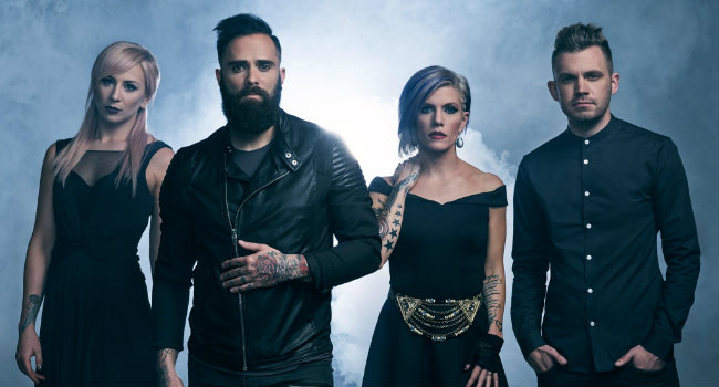 "Skillet shows the making of ""Back From The Dead"""