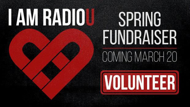 Spring Fundraiser: Volunteer!