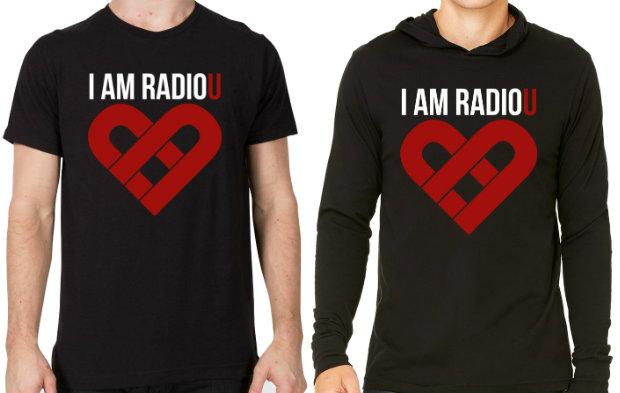I AM RadioU Spring Fundraiser T-Shirt + Hoodie