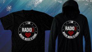 I AM RadioU Fall Fundraiser T-Shirt + Hoodie