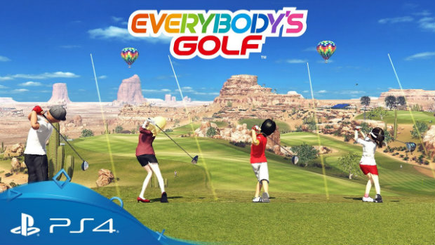 RIOT Control: Everybody's Golf for PS4