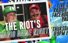 The RIOT Live on Facebook this Thursday night!!