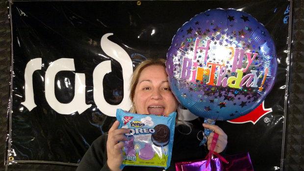 Food Fight: Nikki's Birthday with Peeps Oreos