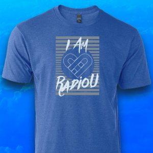 I AM RadioU Spring Fundraiser t-shirt