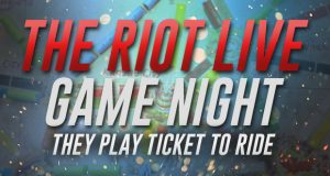 RIOT Game Night with Ticket to Ride