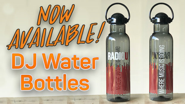 DJ Water Bottle