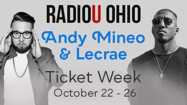 Andy Mineo / Lecrae Ticket Week