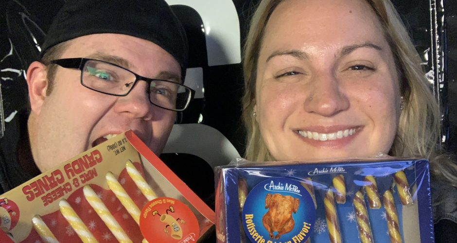 RIOT Food Fight: Mac & Cheese and Rotisserie Chicken Candy Canes
