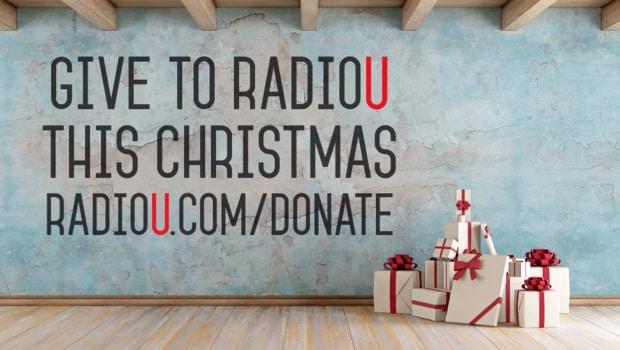 Give To RadioU This Christmas