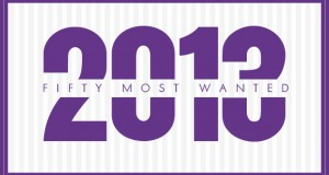 50 Most Wanted of 2013