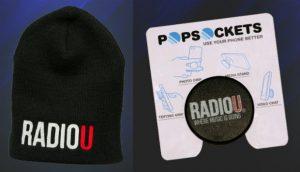 RadioU Beanie or PopSocket