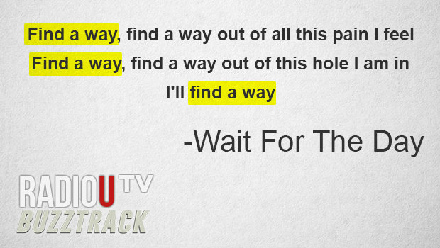 Wait For The Day – Find A Way
