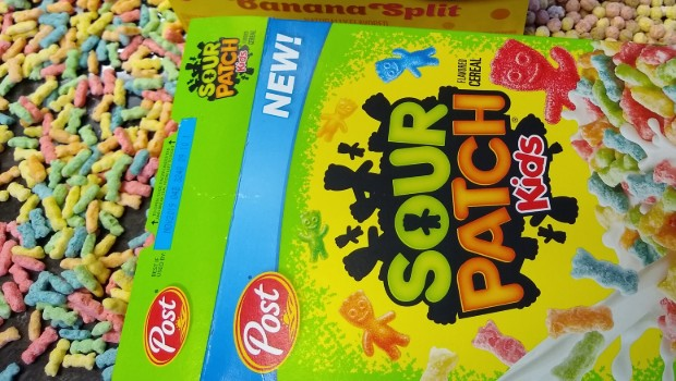 RIOT Food Fight: Sour Patch Kids & Dippin' Dots Cereals