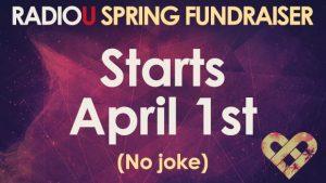 Fundraiser - Starts April 1st