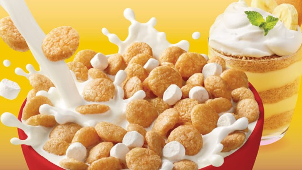 RIOT Food Fight: Nilla Banana Pudding and Lucky Charms Frosted Flakes Cereals