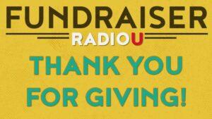 RadioU Fundraiser