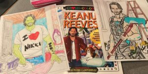 RIOT After Show: Coloring with Keanu