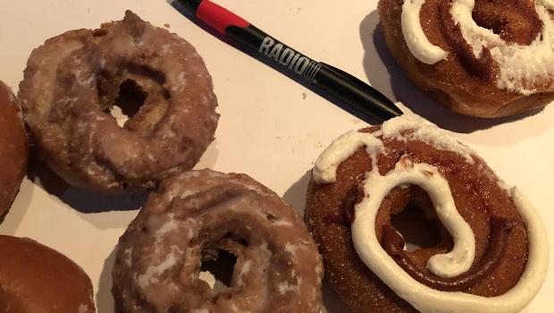 RIOT Food Fight: Krispy Kreme Pumpkin Donuts