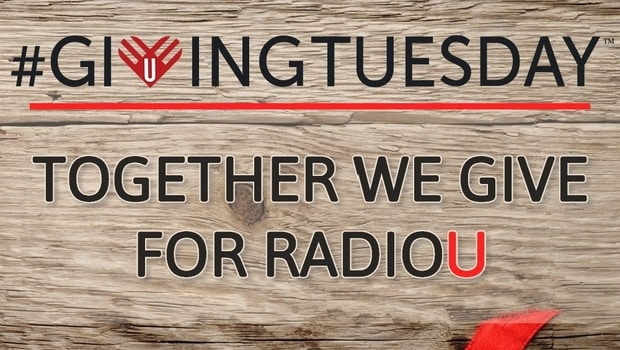 #GivingTuesday: Together We Give For RadioU