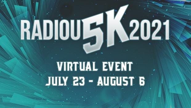 RadioU 5K Virtual Event