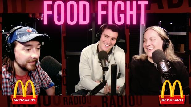 RIOT Food Fight: McDonald's Glazed Pull Apart Donuts