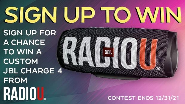 Win A Custom RadioU JBL Speaker!